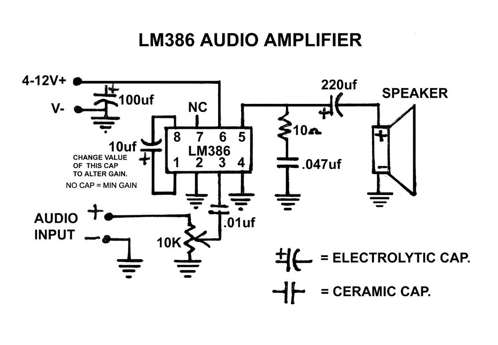 LM386ampschematicfinal1