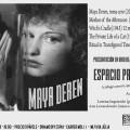 Monográfico sobre Maya Deren