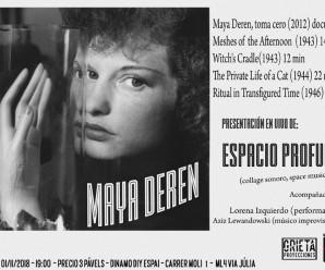 (Castellano) Monográfico sobre Maya Deren