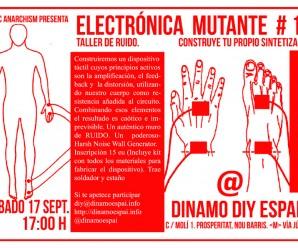 Taller de Ruido. Electrónica Mutante Vol. 13