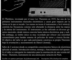 Construye tu propio theremin
