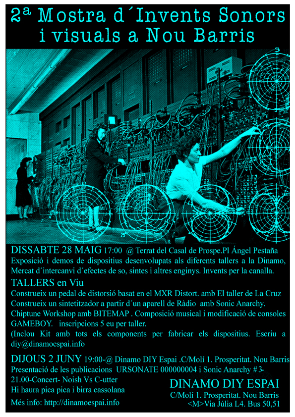 II Muestra de Inventos sonoros y Visuales