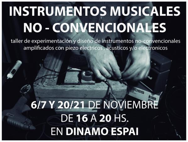Instruments musicals no convencionals