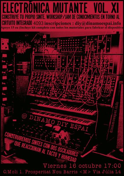 Electrónica Mutante Vol. 11
