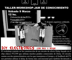 Attack Delay Workshop. Taller / Jam de Coneixement
